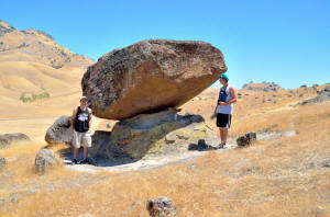 Sutter Buttes Big Balanced Rock