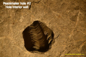 Peacemaker Rock 5 lobed hole